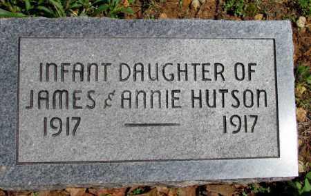 HUTSON, INFANT DAUGHTER - Fulton County, Arkansas | INFANT DAUGHTER HUTSON - Arkansas Gravestone Photos
