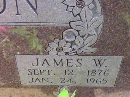 HUTSON, JAMES W (CLOSEUP) - Fulton County, Arkansas | JAMES W (CLOSEUP) HUTSON - Arkansas Gravestone Photos