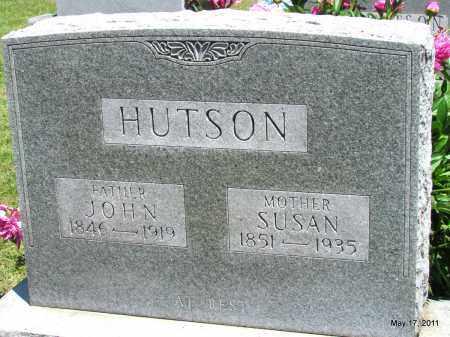 HUTSON, SUSAN - Fulton County, Arkansas | SUSAN HUTSON - Arkansas Gravestone Photos