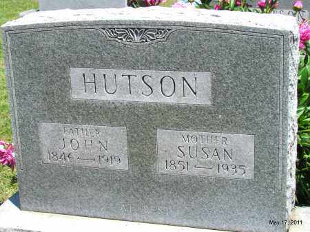 HUTSON, JOHN - Fulton County, Arkansas   JOHN HUTSON - Arkansas Gravestone Photos