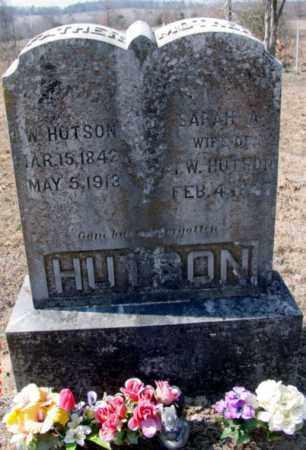 HUTSON, SARAH A. (HARBOUR) - Fulton County, Arkansas | SARAH A. (HARBOUR) HUTSON - Arkansas Gravestone Photos