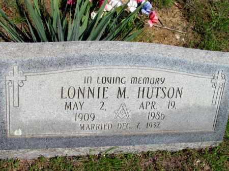 HUTSON, LONNIE M - Fulton County, Arkansas | LONNIE M HUTSON - Arkansas Gravestone Photos