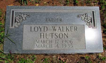 HUTSON, LOYD WALKER - Fulton County, Arkansas | LOYD WALKER HUTSON - Arkansas Gravestone Photos