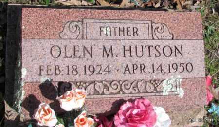 HUTSON, OLEN M - Fulton County, Arkansas | OLEN M HUTSON - Arkansas Gravestone Photos