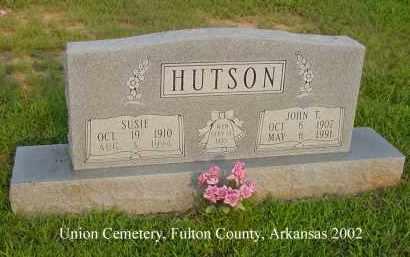 HUTSON, SUSIE - Fulton County, Arkansas | SUSIE HUTSON - Arkansas Gravestone Photos