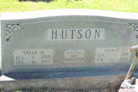 HUTSON, SARAH M - Fulton County, Arkansas | SARAH M HUTSON - Arkansas Gravestone Photos