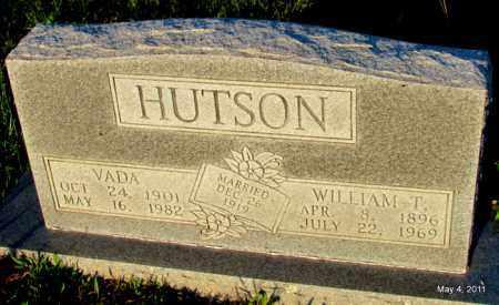 HUTSON, WILLIAM T - Fulton County, Arkansas | WILLIAM T HUTSON - Arkansas Gravestone Photos