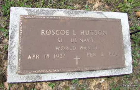 HUTSON (VETERAN WWII), ROSCOE L - Fulton County, Arkansas | ROSCOE L HUTSON (VETERAN WWII) - Arkansas Gravestone Photos