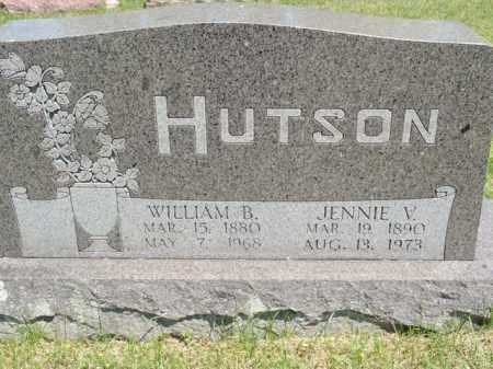HUTSON, JENNIE V - Fulton County, Arkansas | JENNIE V HUTSON - Arkansas Gravestone Photos