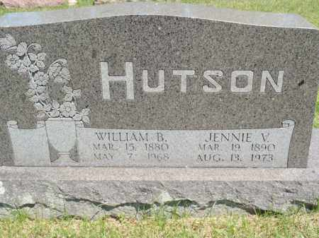 HUTSON, WILLIAM B - Fulton County, Arkansas   WILLIAM B HUTSON - Arkansas Gravestone Photos