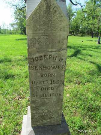 ISENHOWER, JOSEPH B - Fulton County, Arkansas | JOSEPH B ISENHOWER - Arkansas Gravestone Photos