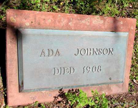 JOHNSON, ADA - Fulton County, Arkansas   ADA JOHNSON - Arkansas Gravestone Photos