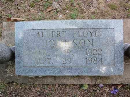 JOHNSON, ALBERT FLOYD - Fulton County, Arkansas | ALBERT FLOYD JOHNSON - Arkansas Gravestone Photos