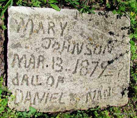 JOHNSON, MARY - Fulton County, Arkansas   MARY JOHNSON - Arkansas Gravestone Photos