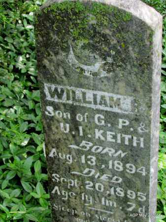 KEITH, WILLIAM - Fulton County, Arkansas | WILLIAM KEITH - Arkansas Gravestone Photos
