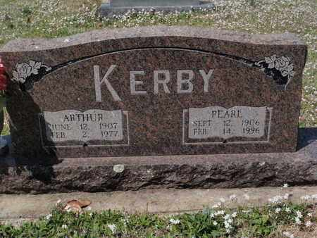 KERBY, ARTHUR - Fulton County, Arkansas   ARTHUR KERBY - Arkansas Gravestone Photos