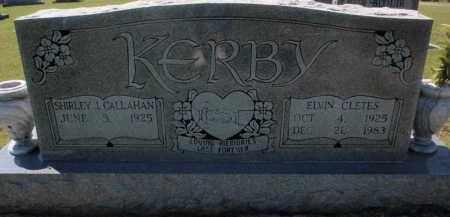 KERBY, ELVIN CLETES - Fulton County, Arkansas | ELVIN CLETES KERBY - Arkansas Gravestone Photos
