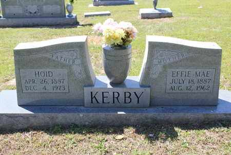 KERBY, EFFIE MAE - Fulton County, Arkansas | EFFIE MAE KERBY - Arkansas Gravestone Photos