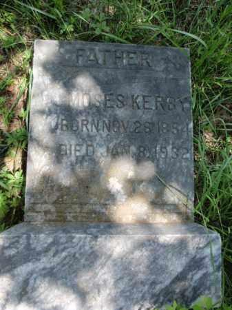 KERBY, MOSES - Fulton County, Arkansas | MOSES KERBY - Arkansas Gravestone Photos