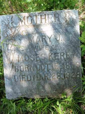 KERBY, MARY J - Fulton County, Arkansas | MARY J KERBY - Arkansas Gravestone Photos