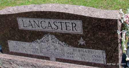 LANCASTER, BETTY JO - Fulton County, Arkansas | BETTY JO LANCASTER - Arkansas Gravestone Photos