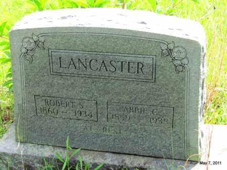 LANCASTER, SARAH C - Fulton County, Arkansas | SARAH C LANCASTER - Arkansas Gravestone Photos