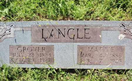 LANGLE, GROVER - Fulton County, Arkansas | GROVER LANGLE - Arkansas Gravestone Photos
