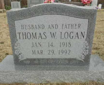 LOGAN, THOMAS WARREN - Fulton County, Arkansas | THOMAS WARREN LOGAN - Arkansas Gravestone Photos