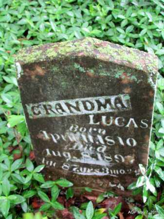 LUCAS, GRANDMA - Fulton County, Arkansas | GRANDMA LUCAS - Arkansas Gravestone Photos