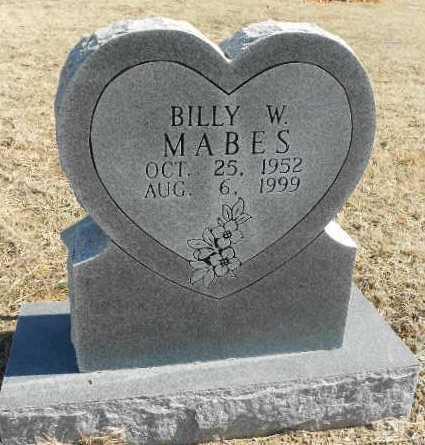 MABES, BILLY WAYNE - Fulton County, Arkansas | BILLY WAYNE MABES - Arkansas Gravestone Photos