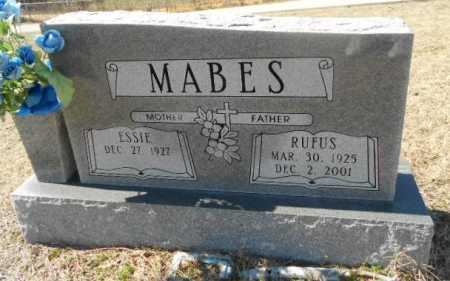 BARBER MABES, ESSIE MAE - Fulton County, Arkansas | ESSIE MAE BARBER MABES - Arkansas Gravestone Photos