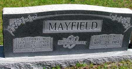 MAYFIELD, EVERTT W - Fulton County, Arkansas | EVERTT W MAYFIELD - Arkansas Gravestone Photos