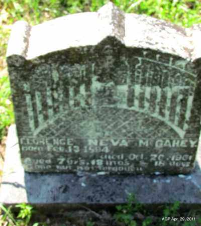 MC GAHEY, FLORENCE NEVA - Fulton County, Arkansas | FLORENCE NEVA MC GAHEY - Arkansas Gravestone Photos