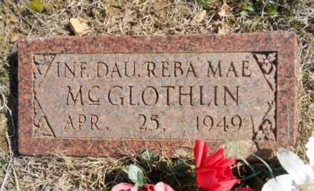 MCGLOTHLIN, REBA MAE - Fulton County, Arkansas | REBA MAE MCGLOTHLIN - Arkansas Gravestone Photos