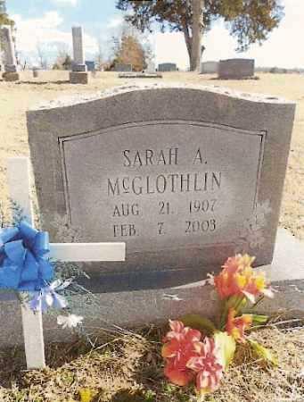 "MCGLOTHLIN, SARAH EMYLA AUGUSTA ""GUSTA"" - Fulton County, Arkansas   SARAH EMYLA AUGUSTA ""GUSTA"" MCGLOTHLIN - Arkansas Gravestone Photos"