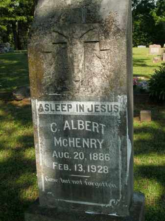 MC HENRY, CLARENCE ALBERT - Fulton County, Arkansas | CLARENCE ALBERT MC HENRY - Arkansas Gravestone Photos