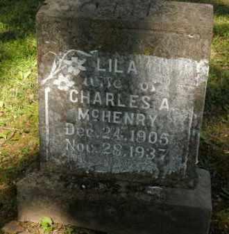 MC HENRY, LILA - Fulton County, Arkansas   LILA MC HENRY - Arkansas Gravestone Photos
