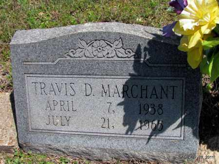 MERCHANT, TRAVIS D - Fulton County, Arkansas | TRAVIS D MERCHANT - Arkansas Gravestone Photos