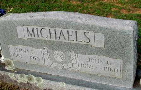 MICHAELS, JOHN G - Fulton County, Arkansas | JOHN G MICHAELS - Arkansas Gravestone Photos