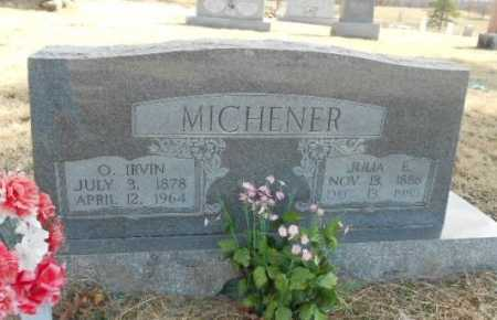 MICHENER, OLIVER IRVIN - Fulton County, Arkansas | OLIVER IRVIN MICHENER - Arkansas Gravestone Photos