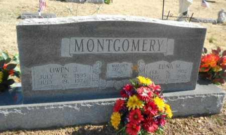 MOSER MONTGOMERY, EDNA M. - Fulton County, Arkansas | EDNA M. MOSER MONTGOMERY - Arkansas Gravestone Photos