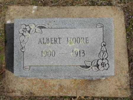 MOORE, ALBERT - Fulton County, Arkansas   ALBERT MOORE - Arkansas Gravestone Photos