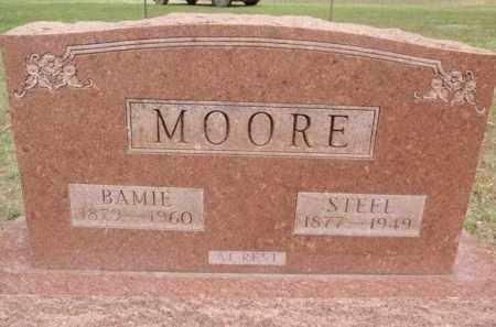MOORE, STEEL SYLVESTER - Fulton County, Arkansas | STEEL SYLVESTER MOORE - Arkansas Gravestone Photos