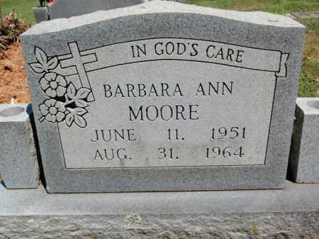 MOORE, BARBARA ANN - Fulton County, Arkansas | BARBARA ANN MOORE - Arkansas Gravestone Photos