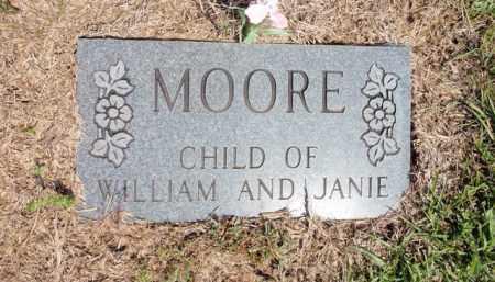 MOORE, CHILD (5) - Fulton County, Arkansas | CHILD (5) MOORE - Arkansas Gravestone Photos