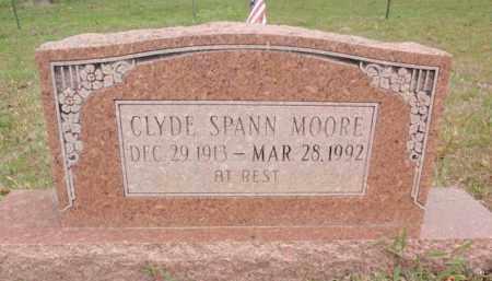 MOORE, CLYDE SPANN - Fulton County, Arkansas | CLYDE SPANN MOORE - Arkansas Gravestone Photos
