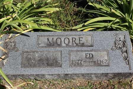 REED MOORE, CLARA V - Fulton County, Arkansas | CLARA V REED MOORE - Arkansas Gravestone Photos