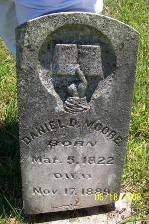 MOORE, DANIEL DUFFEL - Fulton County, Arkansas | DANIEL DUFFEL MOORE - Arkansas Gravestone Photos