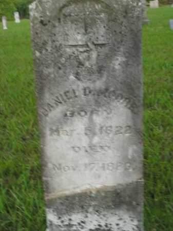 MOORE, DANIEL DUFFLE - Fulton County, Arkansas | DANIEL DUFFLE MOORE - Arkansas Gravestone Photos