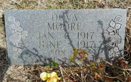 MOORE, DOVA - Fulton County, Arkansas   DOVA MOORE - Arkansas Gravestone Photos